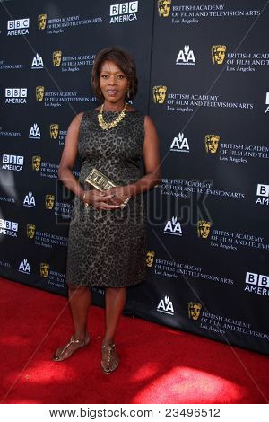LOS ANGELES - SEP 17:  Alfre Woodard arrives at the 9th Annual BAFTA Los Angeles TV Tea Party. at L'Ermitage Beverly Hills Hotel on September 17, 2011 in Beverly Hills, CA