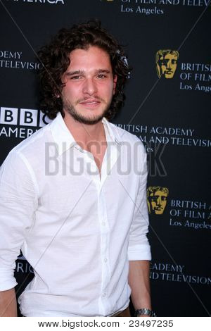 LOS ANGELES - SEP 17:  Kit Harington arrives at the 9th Annual BAFTA Los Angeles TV Tea Party. at L'Ermitage Beverly Hills Hotel on September 17, 2011 in Beverly Hills, CA