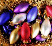 Holiday Bulb Ornaments