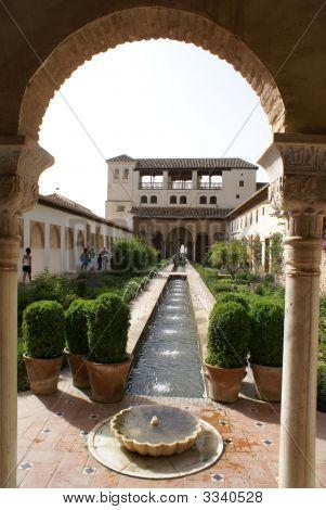 Garden Alhambra