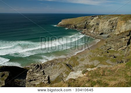 Treknow beach near Tintagel, Cornwall