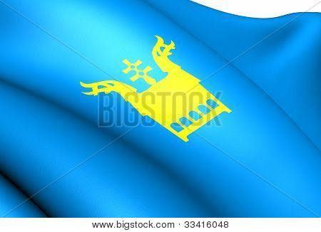 Flag Of Sor-aurdal, Norway.