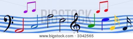 Music Wave Header
