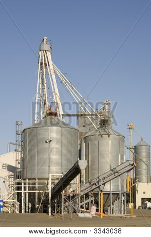 Wheat Storgae Silo'S
