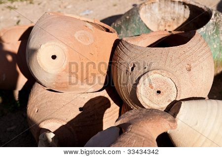 broken jugs