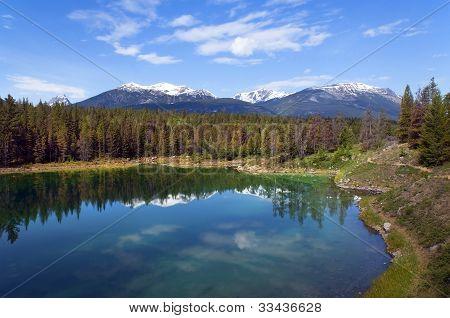Paisajes en el Parque Nacional Banff, Canadá