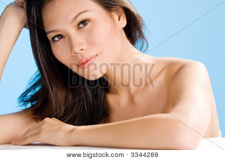 Refreshing Appearance Of Asian Young Women