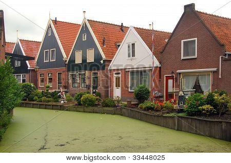 Fishing Village Of Volendam