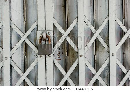 Steel Gate With Key Lock