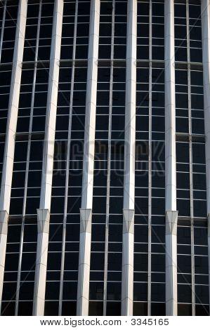 Modern Chinese Skyscraper - Closeup