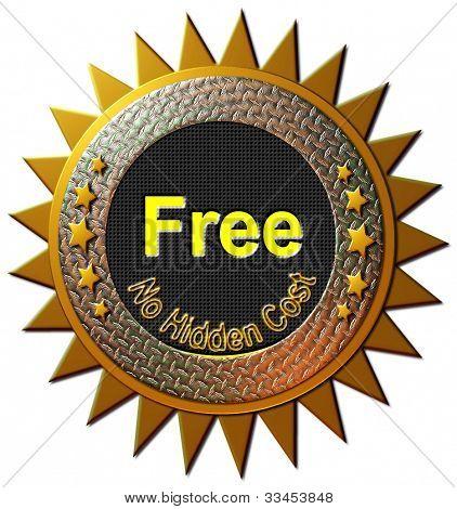 Free - No Hidden Cost