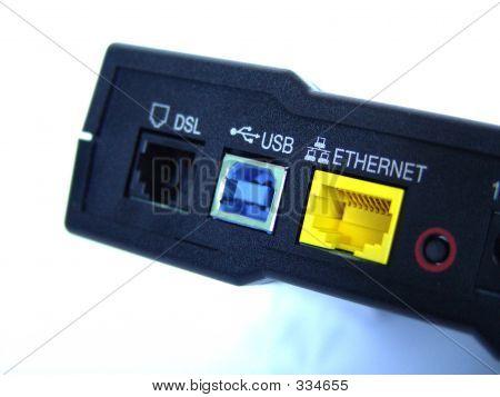 Broadband Modem Back