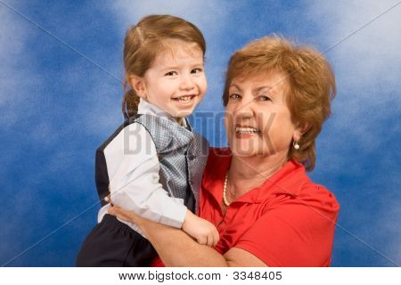 Generations: Grandmother With Her Grandson
