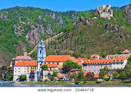 Durnstein On The River Danube (wachau Valley), Austria