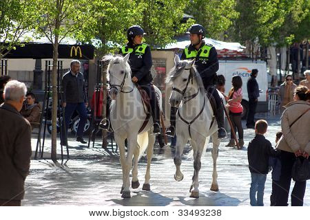 Madrid Horse Police