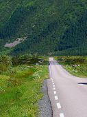 Gimsoya Island Landscape Lofoten Norway poster