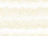 Gold Sparkles Glitter Dust Metallic Confetti Vector Background. Chic Golden Sparkling Background. Go poster