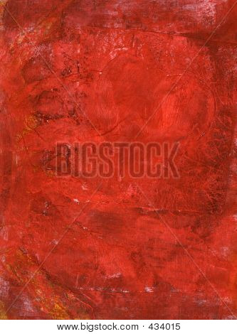 Red Painting Texture