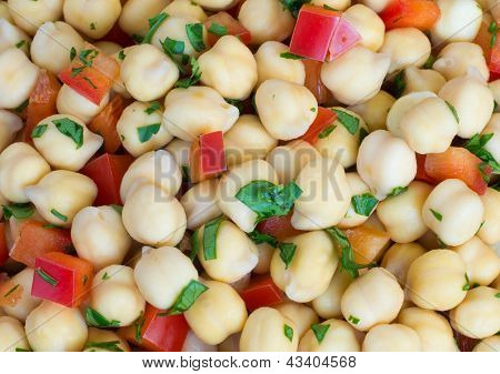 Chick-pea Background