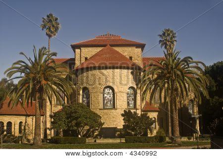 Stanford's Memorial Church - Rear