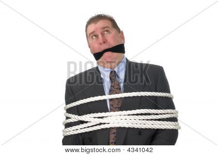 A Tied Up Businessman