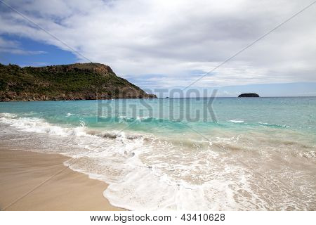 Saline beach, St. Barths, French West Indies