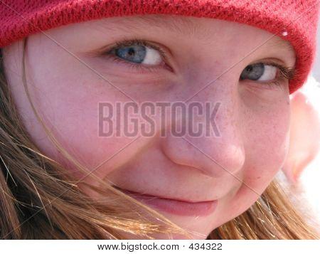 Smile Girl Portrait
