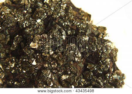 Golden Mineral Background
