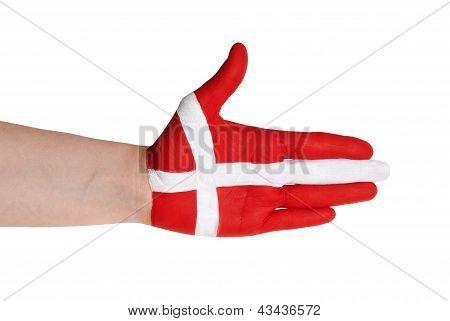 Danish Handshake Gesture