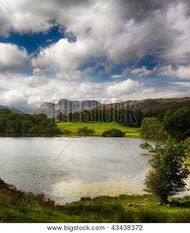 Loughrigg Tarn In Lake District