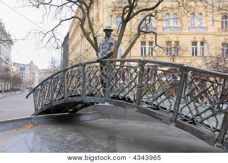 Statue Of Hungarian Prime Minister Imre Nagy