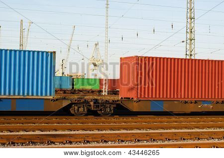 Container Train