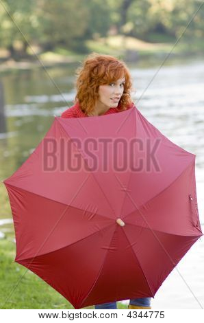 Behind The Umbrella