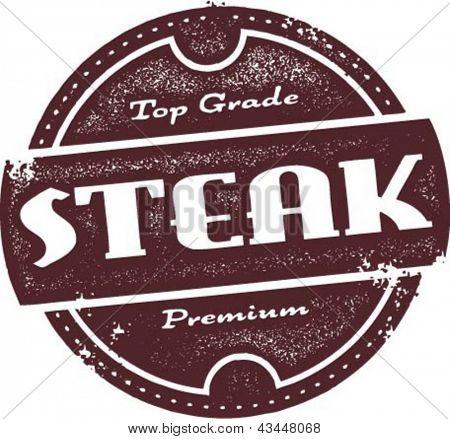 Top Grade Beef Steak Stamp