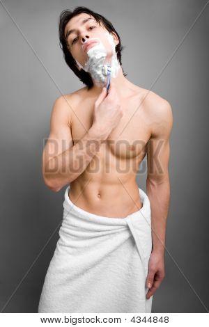Shaving Guy