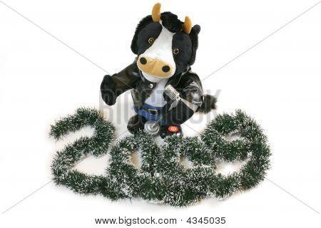 Singing Toy Bull
