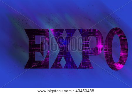 Colorful Expo Text