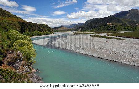 Waiau River, North Canterbury, New Zealand