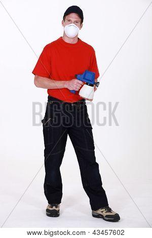 Industrial paint sprayer