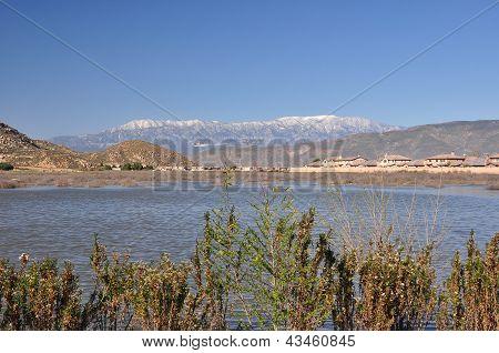 Pond in Hemet