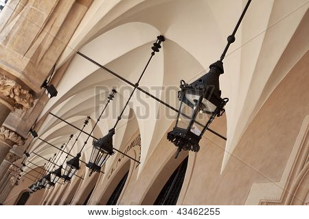 Archways Under Cloth Hall, Krakow