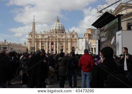 Pope Installation