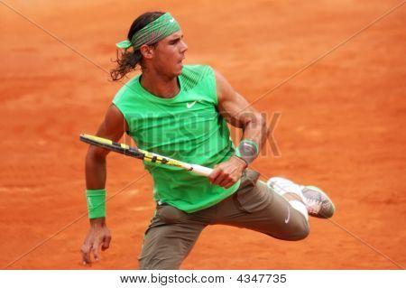 Spain's Rafael Nadal At Roland Garros