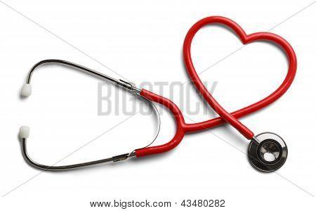 Estetoscopio de corazón