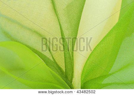 textura de la tela de Organza