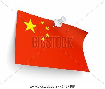 Chineese flag.