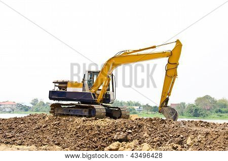 Backhoe Machine