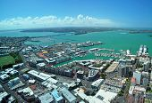 picture of cbd  - Panoramic aerial view of Auckland City  - JPG
