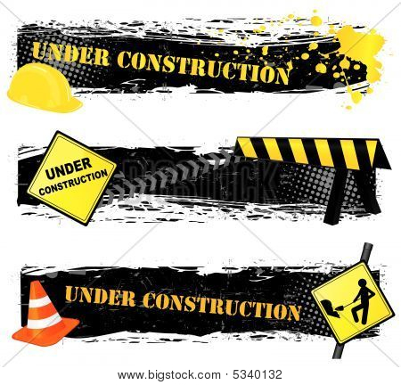 Under Construction Banners
