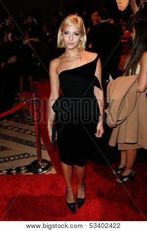 NEW YORK-SEP 17: Model Annabelle Dexter-Jones attends the 14th annual New Yorkers For Children Fall Gala at Cipriani 42nd Street on September 17, 2013 in New York City